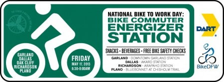 The Plano Bike Energizer station will open at 5:30am